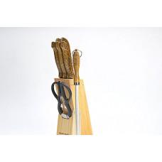 Набор ножей 636 8пр змейка *12