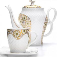 26836 чайный/сер. 13пр (220мл+1,3л чайник) lr (х4)