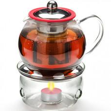 Заварочный чайник 25675 800мл + подогрев сито мв *12