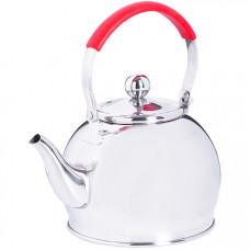 29003 заварочный чайник глянцевый 1 литр mb (х24)