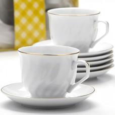 25616 чайный набор 12пр 220мл в под/упак lr (х8)