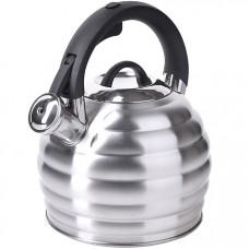 28557 чайник 3,2л нерж/сталь со свистком mb (х12)