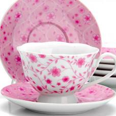 """Набор чайный 25922 12пр 150мл """"цветы"""" lr *6"""