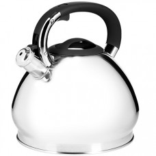 28982 чайник 4,3 л нерж/сталь со свистком mb (х12)