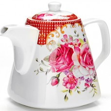 "26546 заварочный чайник 1,1л ""цветы"" lr (х18)"