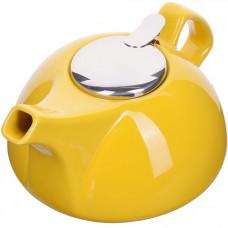28682-1 заварочный чайник керамика желтый 950 мл lr (х24)