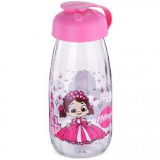 80546 бутылка для напитков стекло 0,25 л розовая mb (х24)