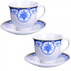 28647 чайная пара 4 предмета 220мл lr (х12)
