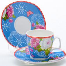 Набор кофейный 24757 12пр 80мл розы lr *12