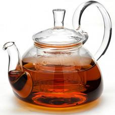 Заварочный чайник 24936 стекло 600мл с крышкой мв *16