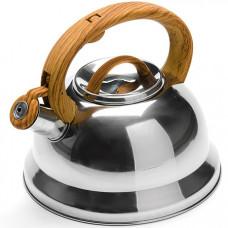 25745 mb чайник метал. 3л с/кр со свистком (х12)