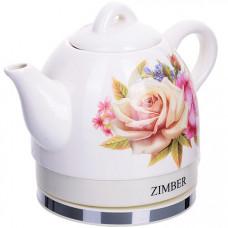 11232 чайник электр. керамика 1 л 1350вт zm (х4)