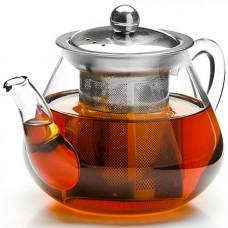 26201 заварочный чайник стекло 600мл+сито mb (х36)