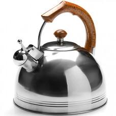 26169 чайник мет. 4,8л со свистком дер/р mb (х12)