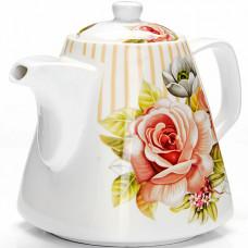 "26547 заварочный чайник 1,1л ""цветы"" lr (х18)"