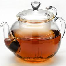 Заварочный чайник 24937 стекло 600мл с крышкой мв *16