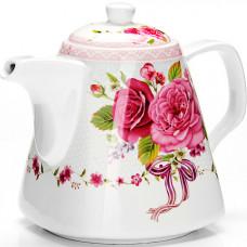 "26549 заварочный чайник 1,1л ""цветы"" lr (х18)"