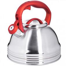 29166 чайник 3л со свистком нерж mb (х12)