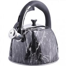 28967 чайник 3 л нерж/сталь со свистком mb (х12)