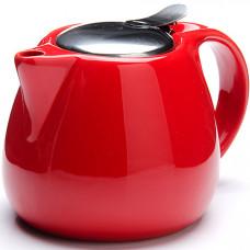 26597-3 заварочный чайник красный 750мл lr (х24)