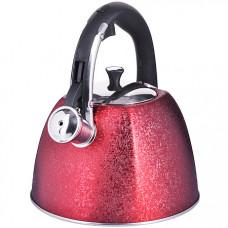 28969 чайник 3 л нерж/сталь со свистком mb (х12)