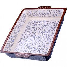 27930 форма для запекания 3,7л.керамика lr (х4)