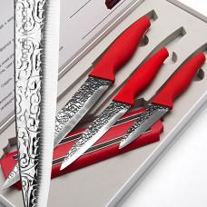 Набор ножей 24140 3 ножа + магнит *10
