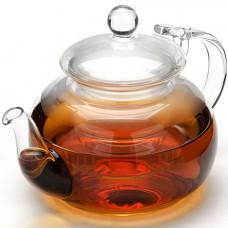 Заварочный чайник 24939 стекло 650мл с крышкой мв *16