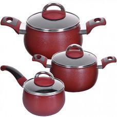 27789 набор посуды 6пр 1,6+2,4+3,4 см mb (х4)