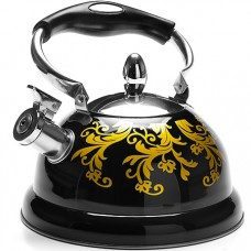 29055 чайник со свистком метал. 2,6л мв (х12)
