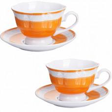 28645 чайная пара 4 предмета 220мл lr (х12)