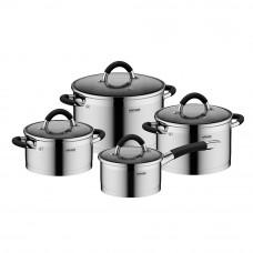 Набор посуды Nadoba Olina 8 пр со стеклянными крышками 726419